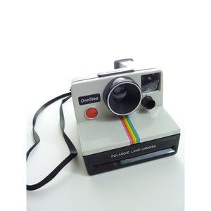 Vintage Polaroid One Step Rainbow Stripe SX-70